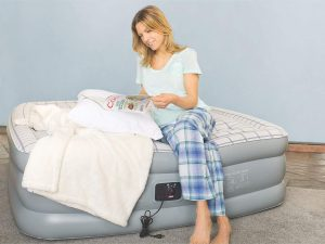 This Coleman queen air mattress review goes over the pros and cons of different inflatable beds. It will help you decide between a single-high and double-high options to help you decide what air mattress best fits your needs.