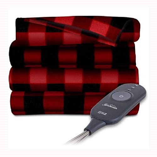 Sunbeam Heated Electric Throw Blanket Fleece Extra Soft